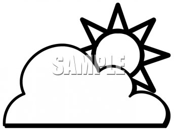 Weather Symbols For Kids Black And White