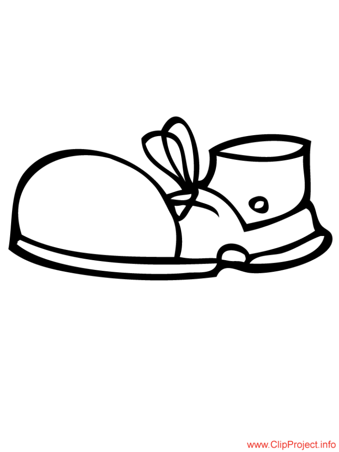 Shoes To Color Clipart Best Coloring Pages 6 490x521
