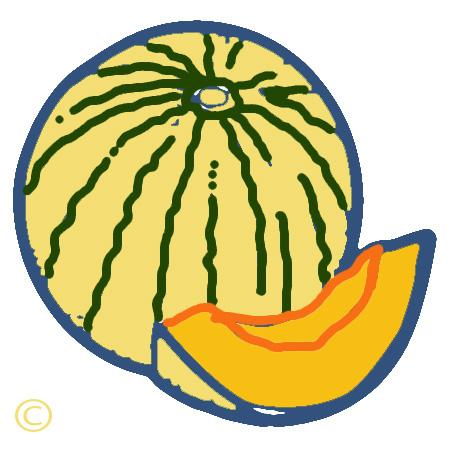 Clip Art Melon Melon clip art
