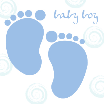 Baby Footprint Picture - ClipArt Best
