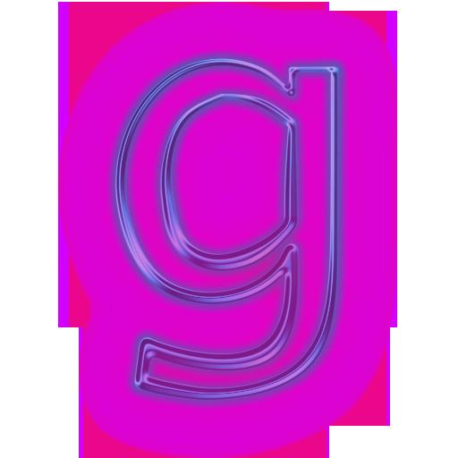 Letter a clipart purple letter g clip art