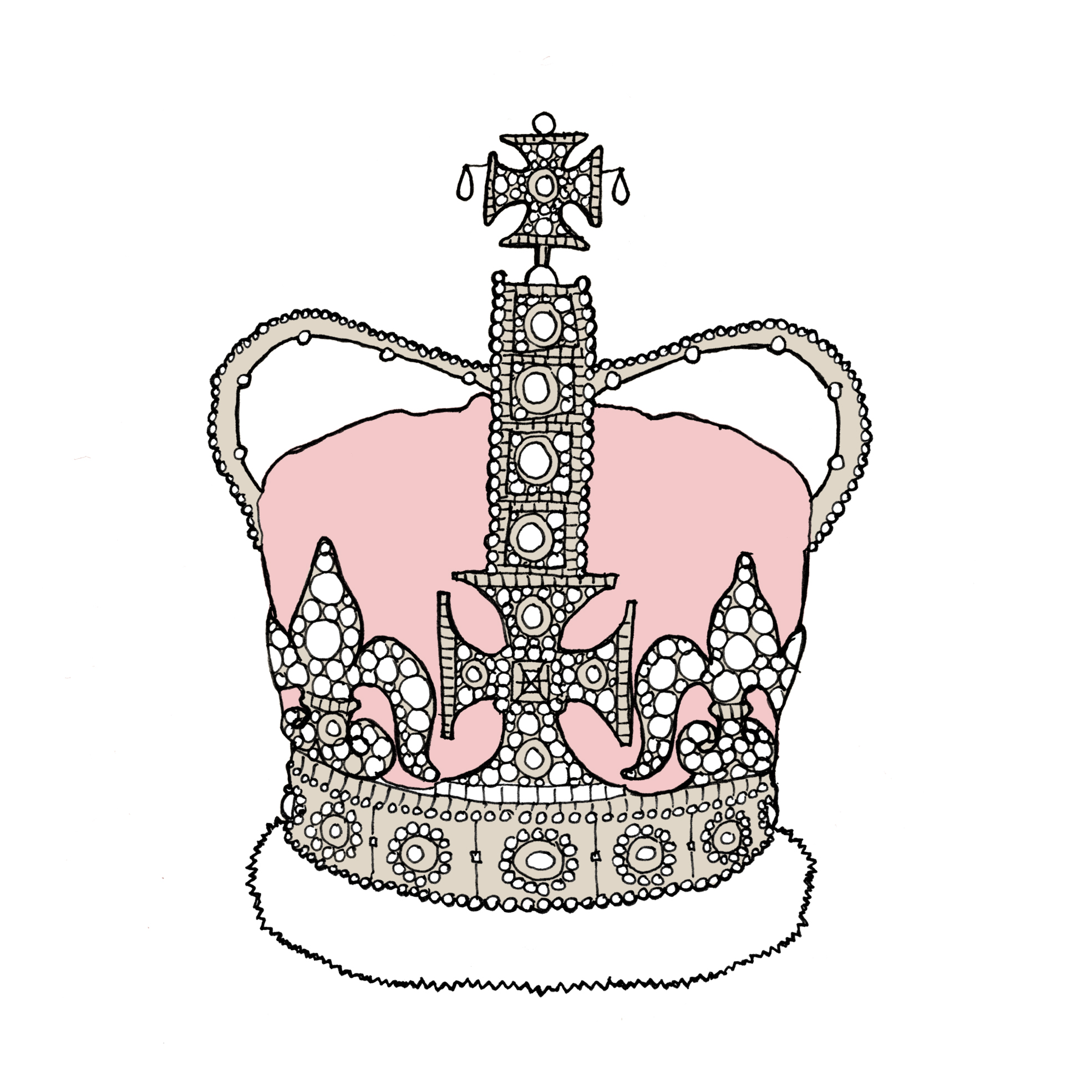 Simple Princess Crown Drawing Clipart Best Drawings Of Princess Crowns