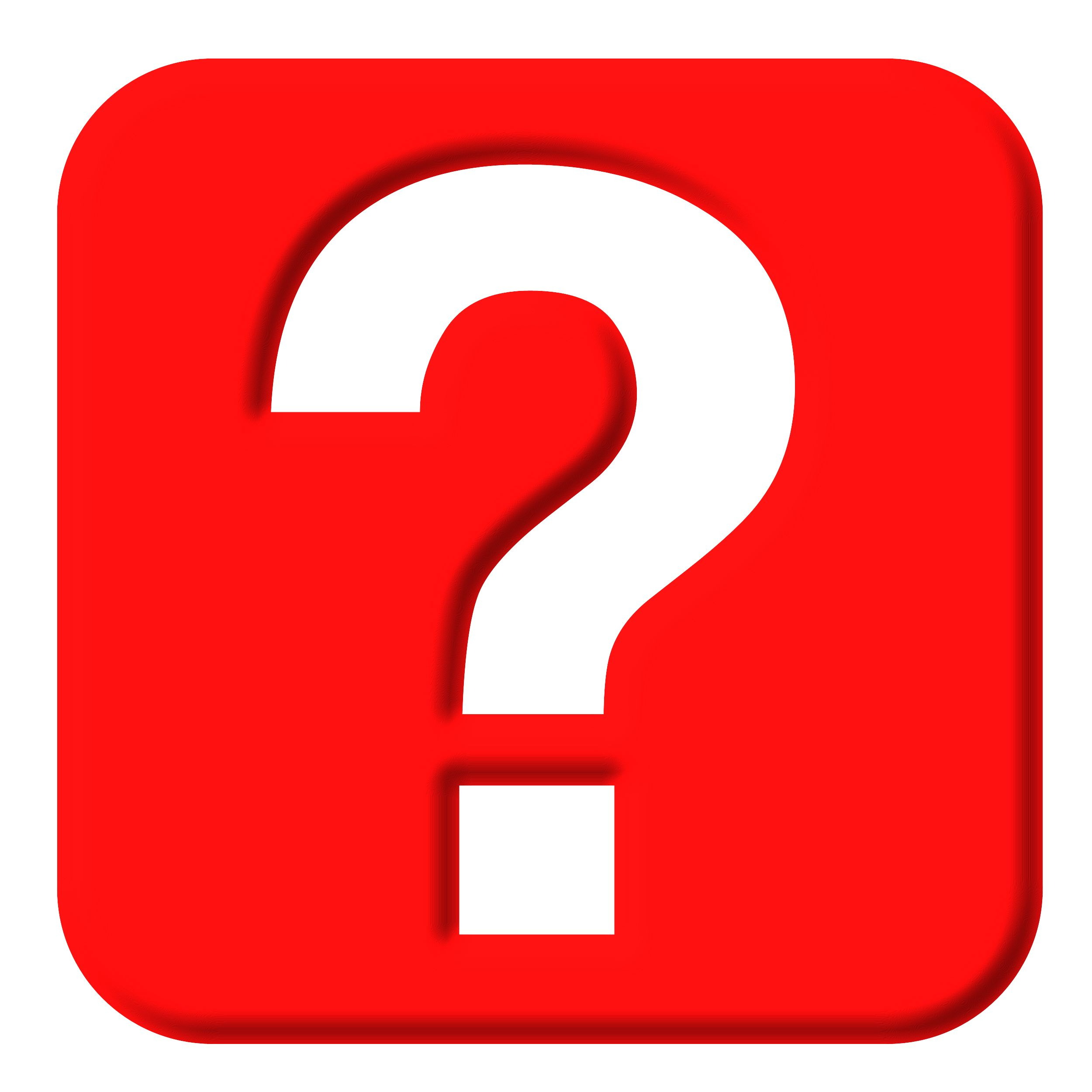 Big Red Question Mark - ClipArt Best