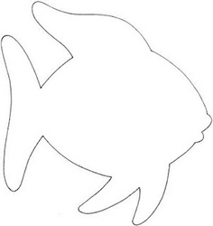 Fish template clipart best clipart best for Fish cut out template