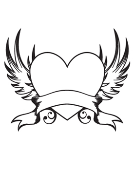 Heart with Wings — Tat2u - ClipArt Best - ClipArt Best