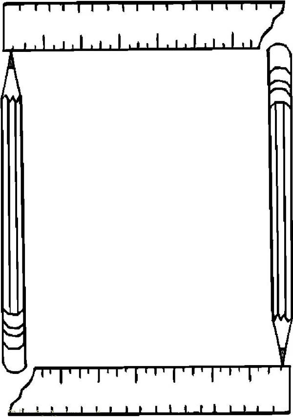 free picture frame coloring pages - photo#20