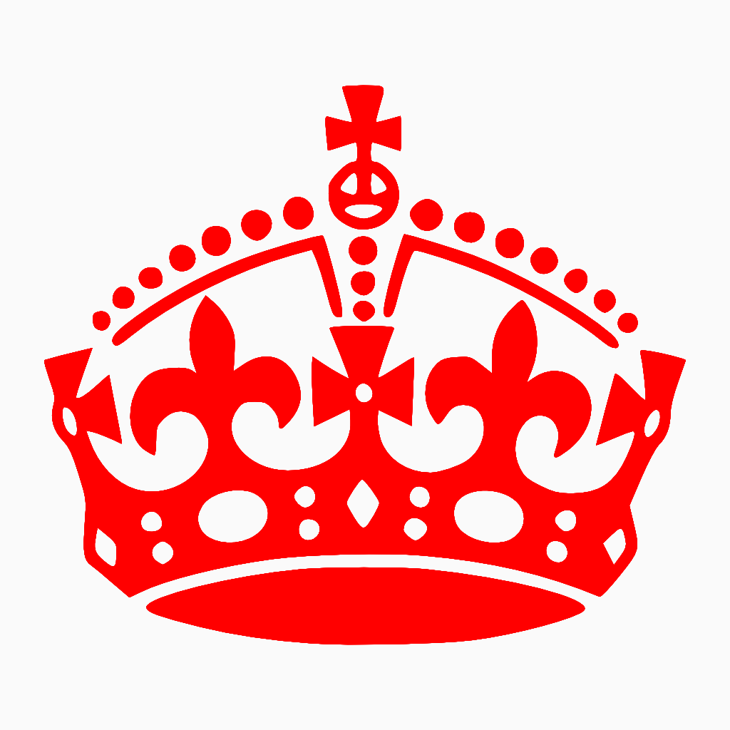 red crown clipart - photo #37