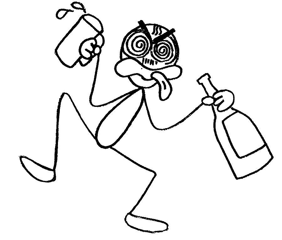 Drunk Cartoon People - ClipArt Best