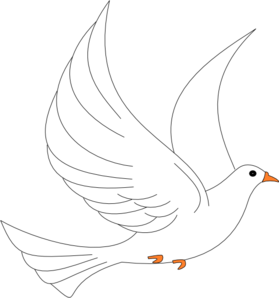 Dove clip art - vector clip art online, royalty free & public domain