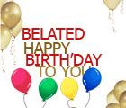 Belated Birthday Clip Art - ClipArt Best