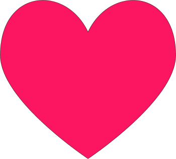 28 pink hearts . Free cliparts that you can download to you computer ...