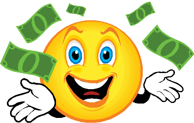 29 smiley face with money . Free cliparts that you can download to you ...