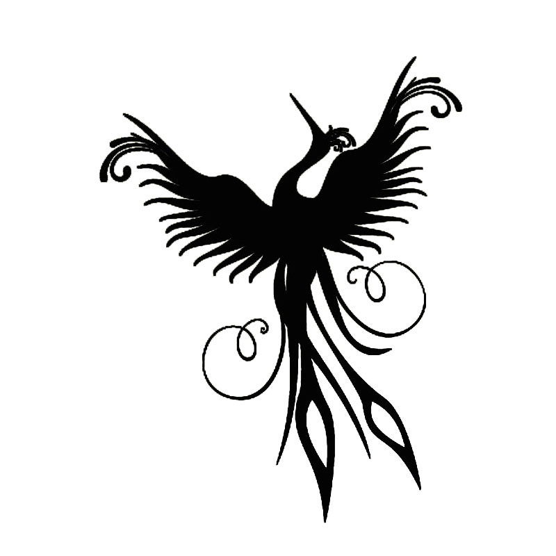 Popular Phoenix Wall Decal-Buy Cheap Phoenix Wall Decal lots from ...