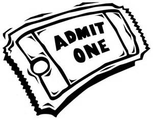 ticket coloring pages | Movie Tickets Coloring Page - ClipArt Best