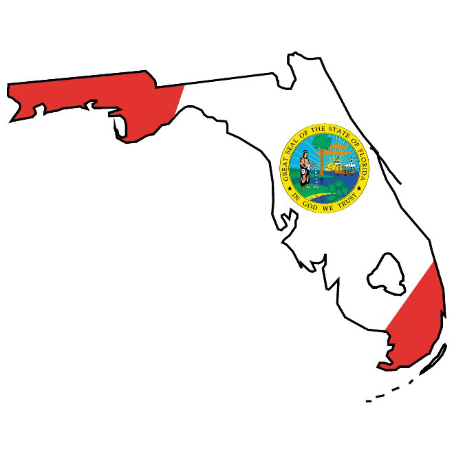 Florida State Vector  ClipArt Best