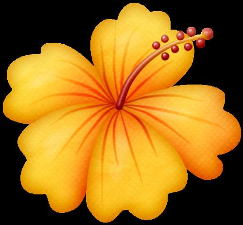 Hawaiian Yellow Hibiscus - ClipArt Best