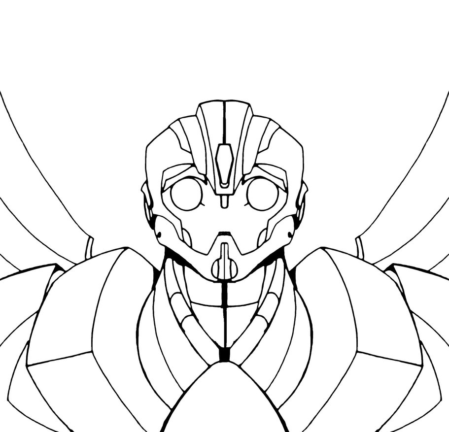 Free Coloring Pages Of Bumblebee Transformers Bumblebee Coloring Sheet