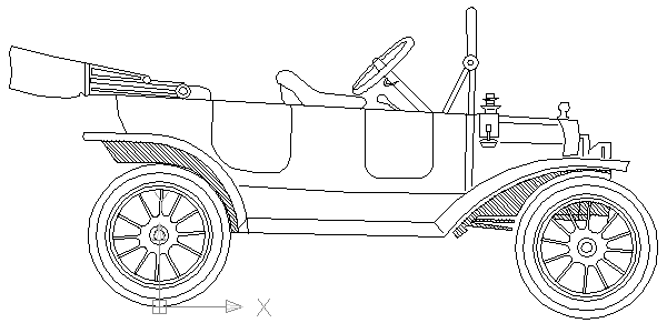1930 ford model a coloring pages
