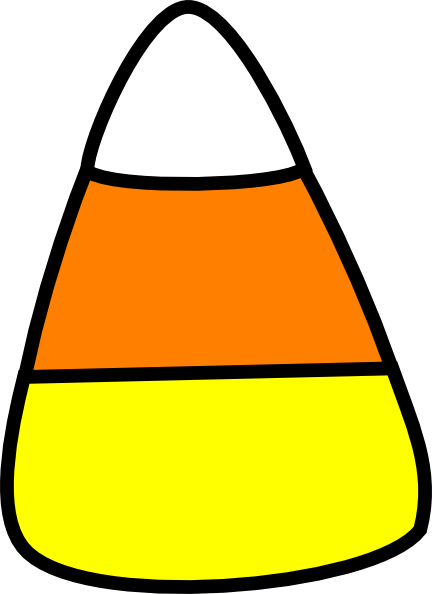 Halloween Candy Corn Clipart - Free Clipart Images