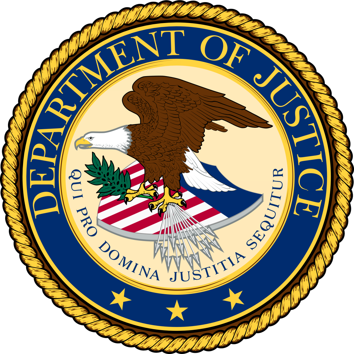 Dept Of Justice Logo - ClipArt Best