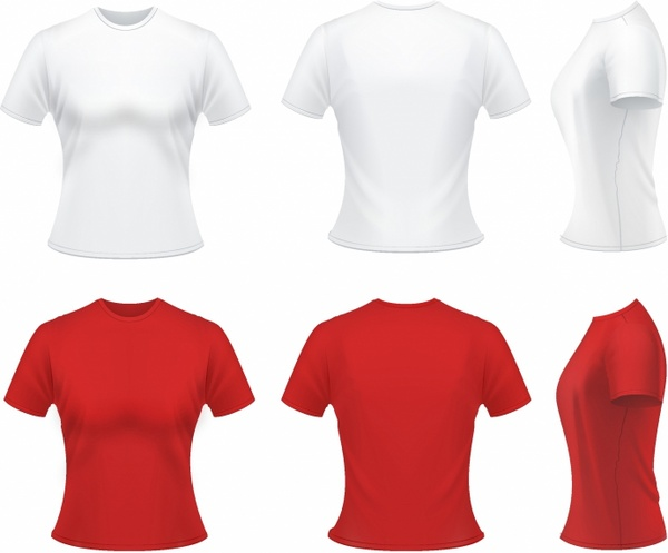 Red t shirt template free vector download (18,172 Free vector) for ...