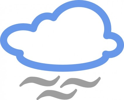 Weather Symbols clip art Vector clip art - Free vector for free ...