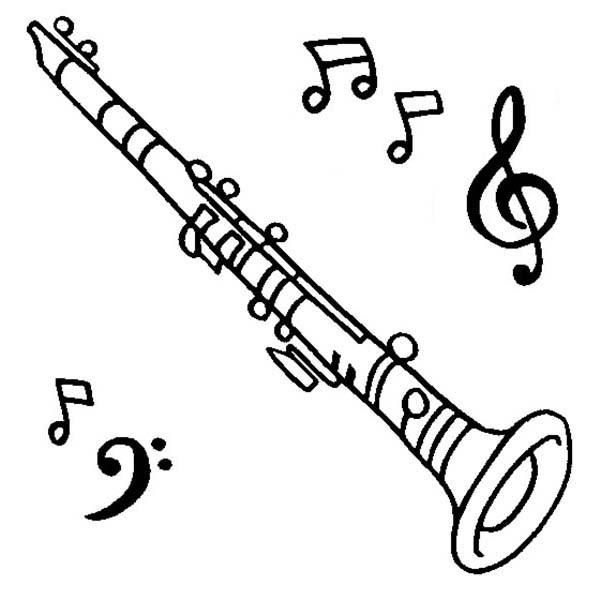 Clarinet Color Page