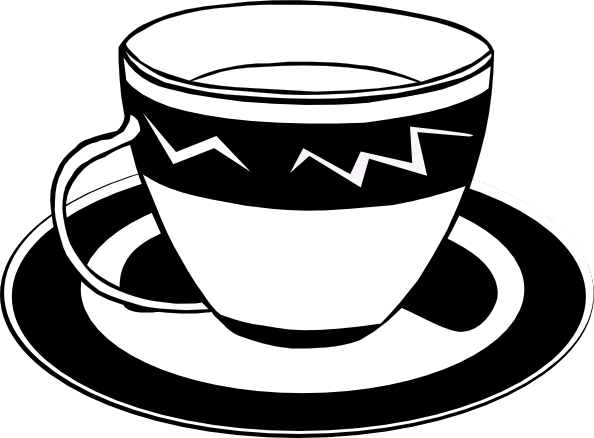 Tea Clipart Black And White | Clipart Panda - Free Clipart Images