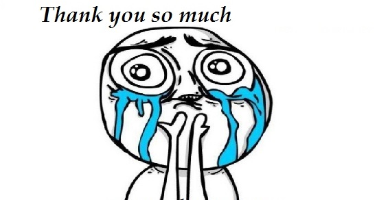 Thank You So Much Funny Meme : Gallery for gt troll face happy crying clipart best