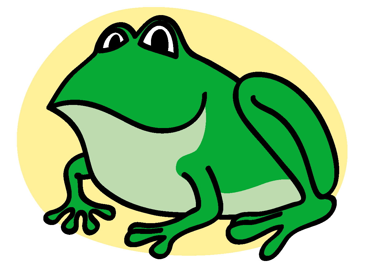 green frog clipart - photo #9