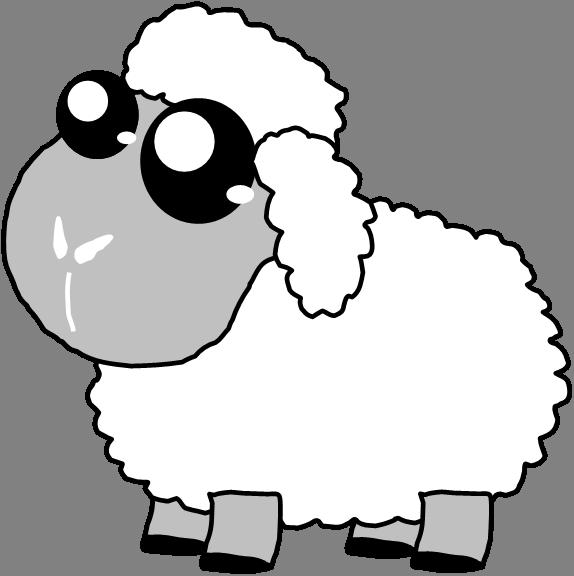 Cute Sheep Drawings - ClipArt Best