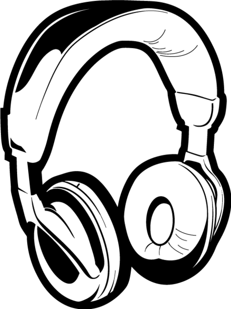 Dj Headphones Clip Art - ClipArt Best