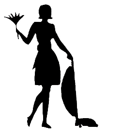 Clean The House Black And White Clipart Clipart Best