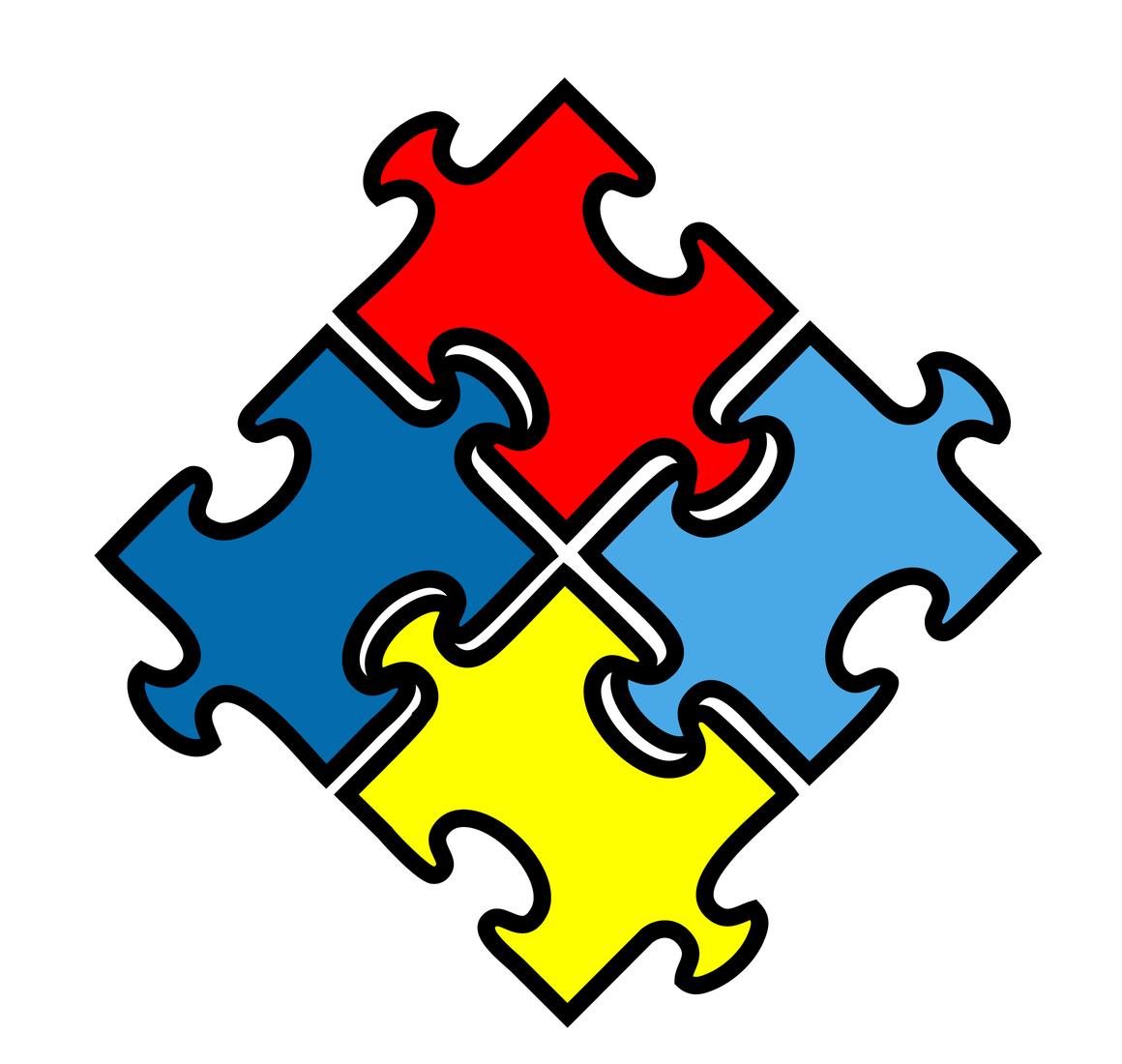 Autism Logo Puzzle Clipart Best