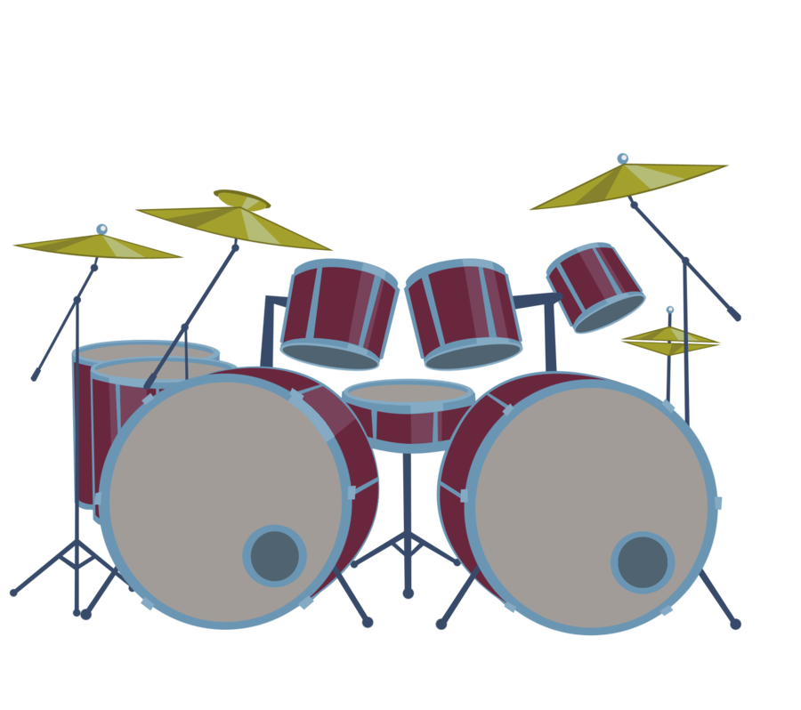 Drums Cartoon - ClipArt Best
