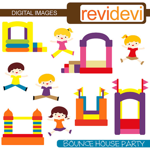 free bounce house clipart - photo #29