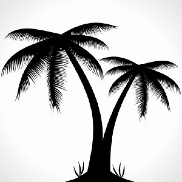 African Tree Silhouette - ClipArt Best