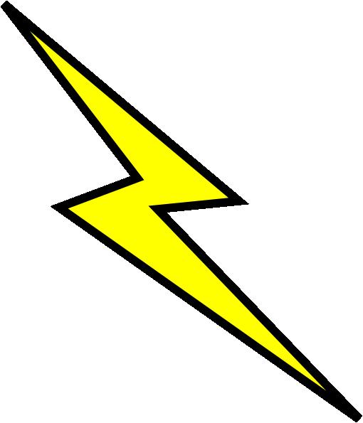 Printable t shirt template clipart best images printable online - Lightning Bolt Stencil Clipart Best