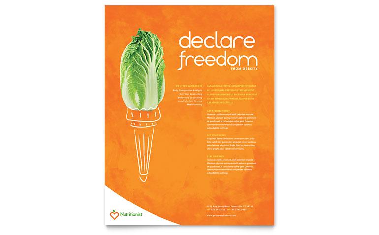 nutrition brochure template - free bakery menu template clipart best