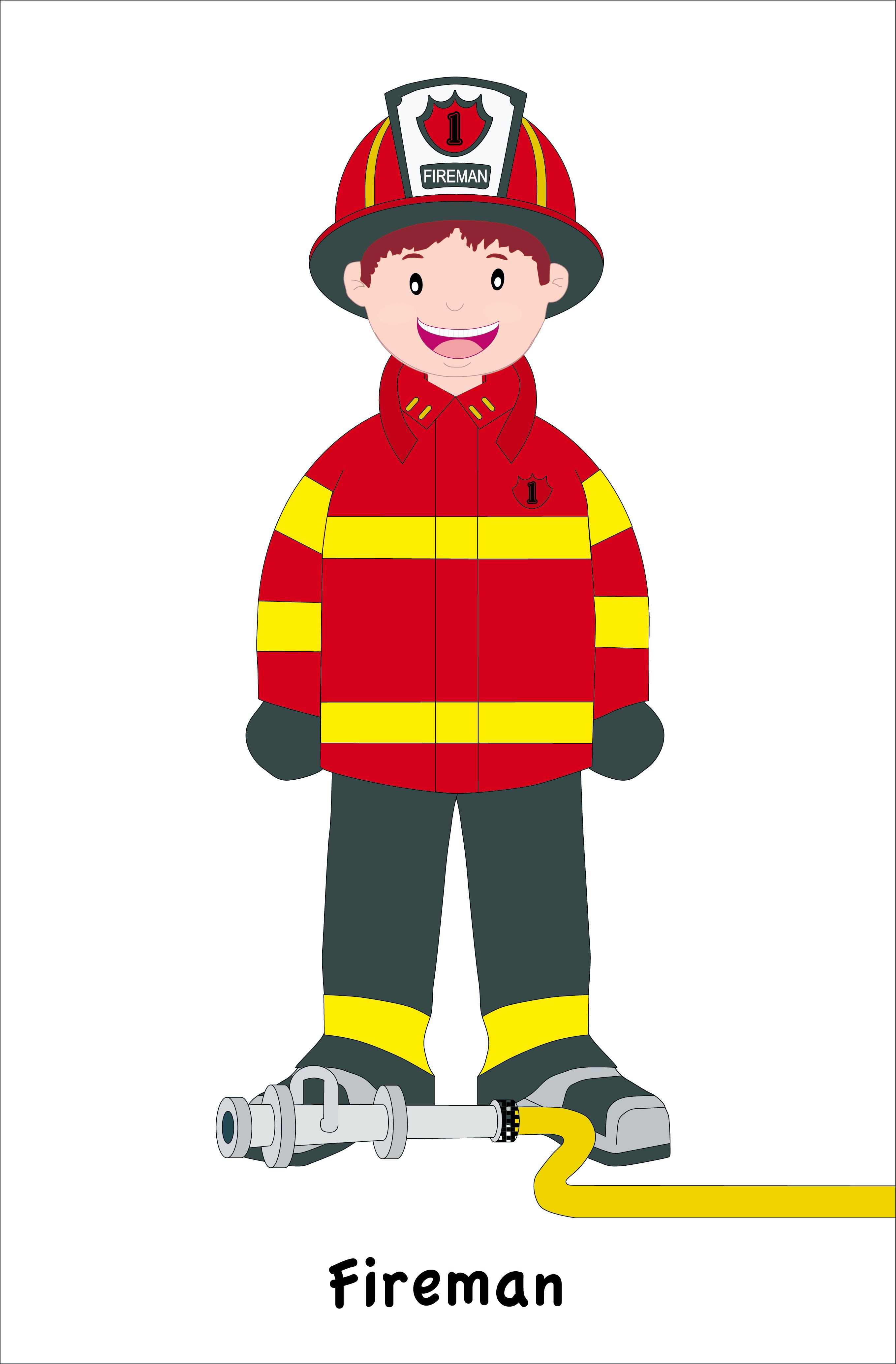 clipart fireman - photo #24