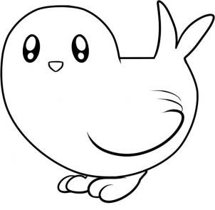 Bird Drawings For Kids Clipart Best