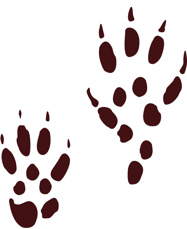 fox tracks clipart best Wood Chuck Dog Clip Art