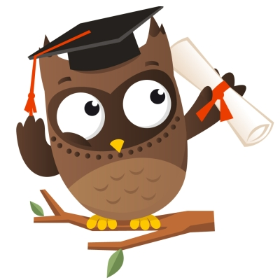 smart owl clipart clipart best