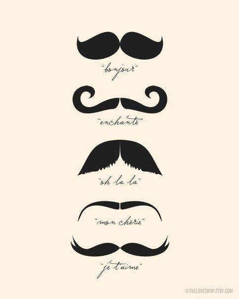 French Mustache | Summer Patterns ...