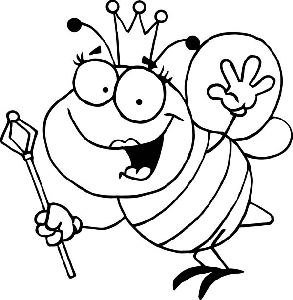 Bumblebees Free Colouring Pages