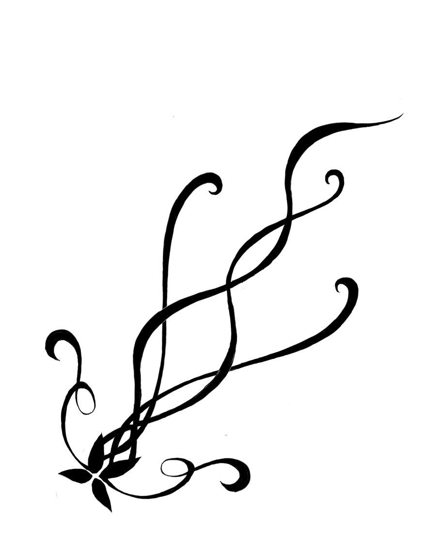 Stars And Swirls Tattoo Clipart Best