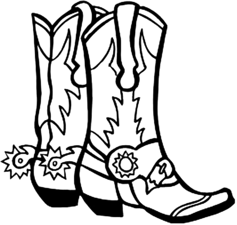 Images Of Cowboy Boots - ClipArt Best