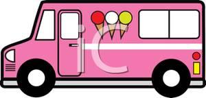 Ice Cream Truck Clip Art
