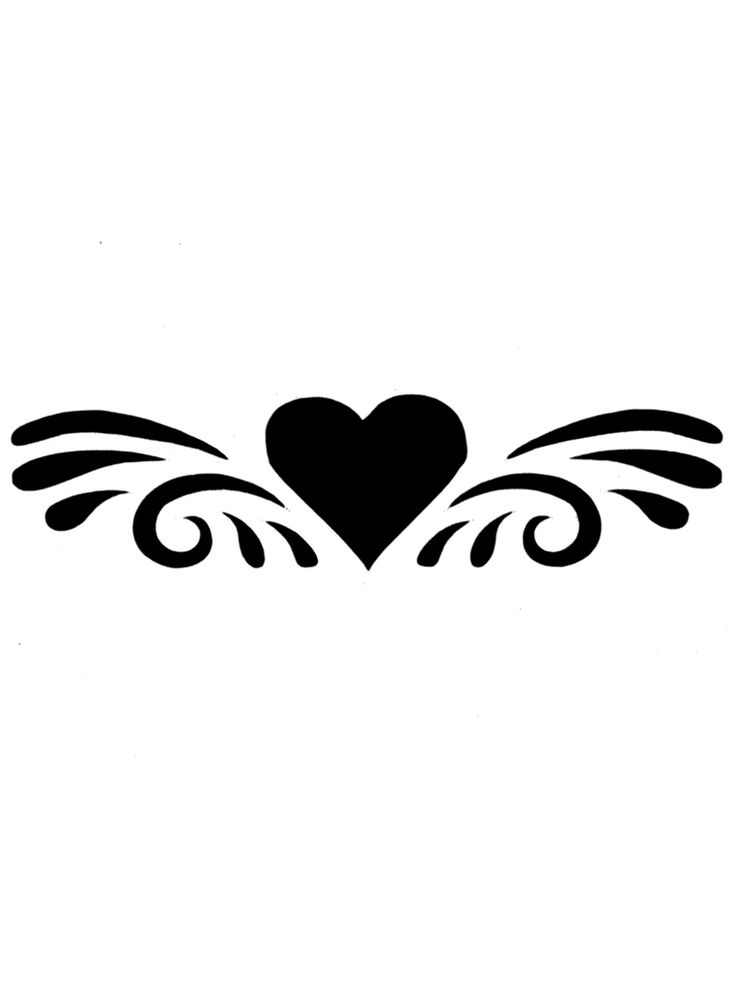 Cool simple tattoo clipart best for Cool tattoo stencils