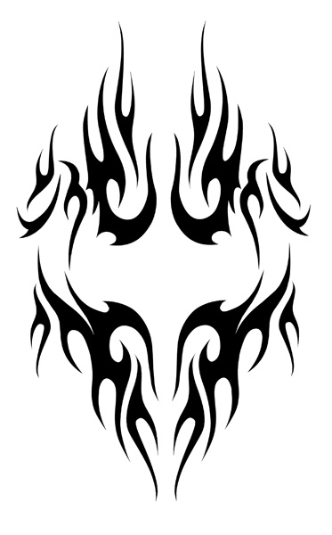 Tribal Fire Designs Clipart Best